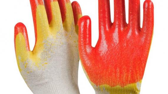 Новое поступление облитых перчаток от 17 рублей за пару