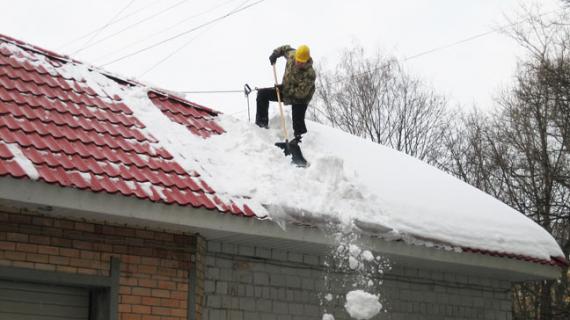 Как чистить крыши от снега все способы уборки с кровли снега