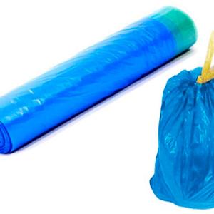 Мешки для мусора 60 л 10 шт. с завязками