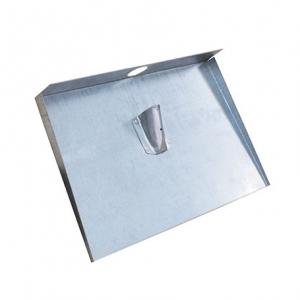 Лопата алюминиевая снегоуборочная 2 мм 3 борта